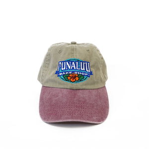 Punalu'u Embroidered Logo Pigment-Dyed Baseball Cap