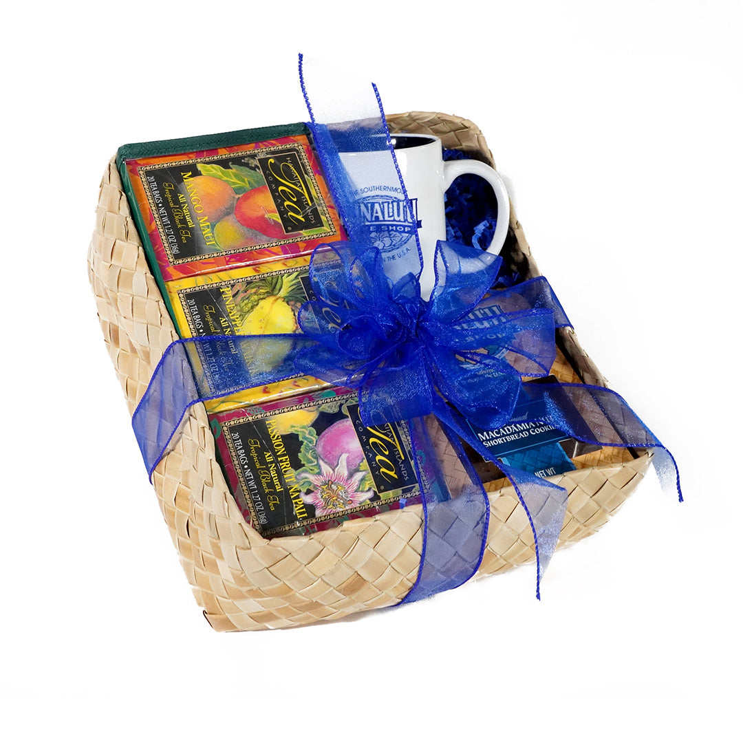 Hawaiian Islands Tropical Teas Gift Basket