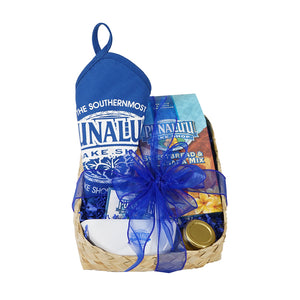 Punalu'u Sweet Bread & Malasada Home Baking Mix Basket
