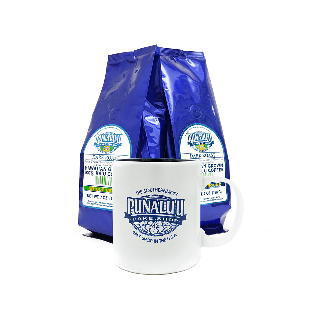Ka'u Coffee Gift Basket