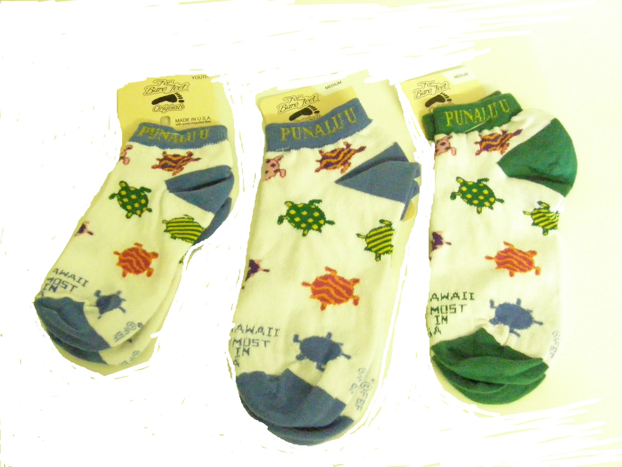Punalu'u Logo Adult Socks