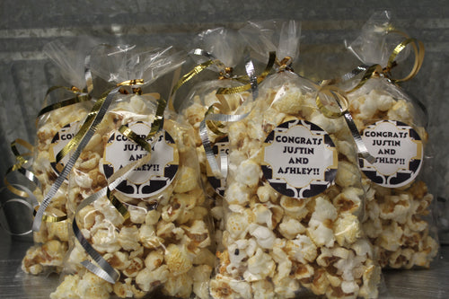 Wedding Popcorn Favors