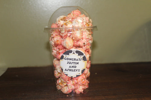 It's A Girl! Baby Shower Popcorn Cup Favors