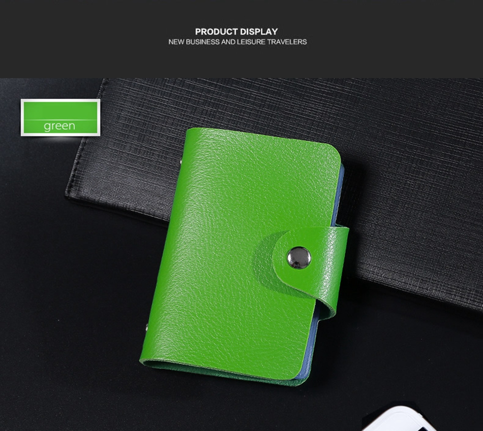6890021ae6b Fashion PU Leather Function 24 Bits Card Case – VAX STORE