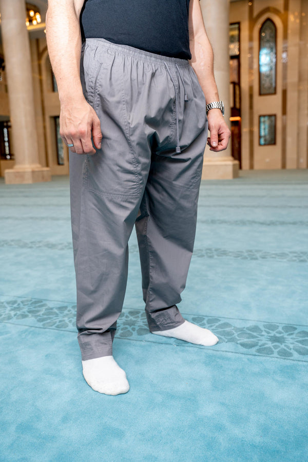 Mens Ikaf Pants - Grey