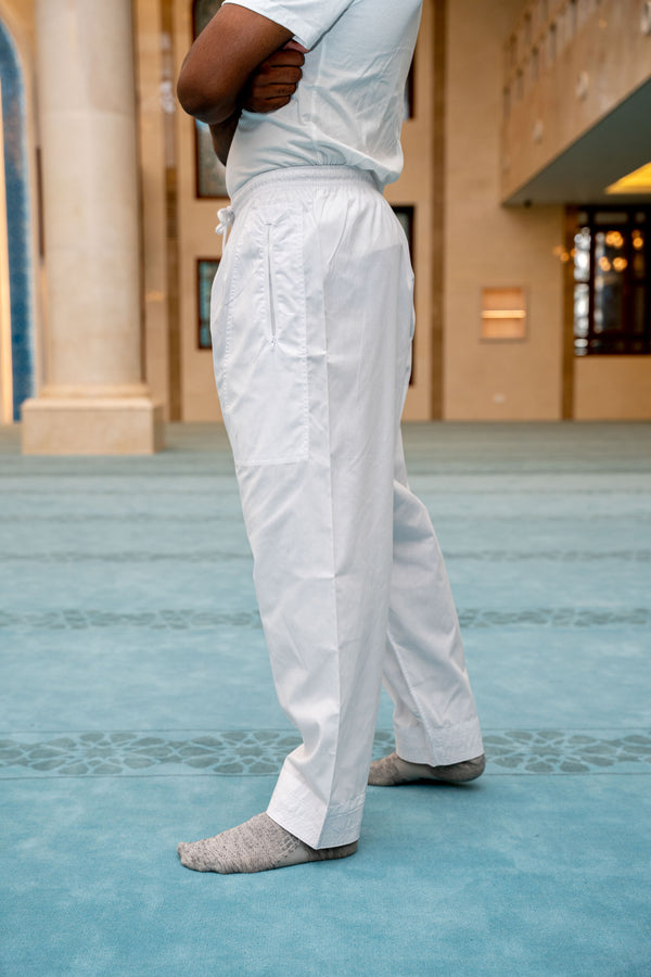 Mens Ikaf Pants - White