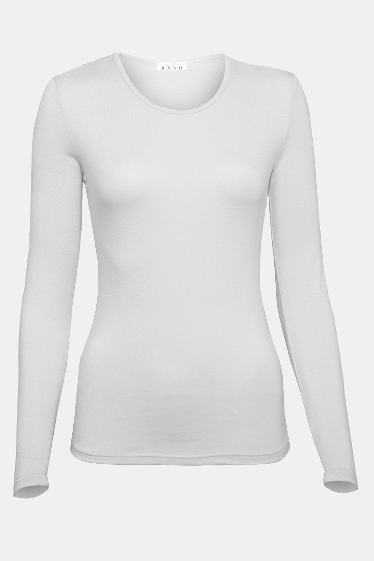 BNAH002-Women's Body Top-White