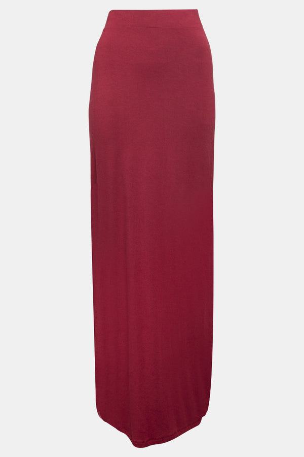 BNAH003-Womens Pencil Skirt-43_Maroon (2934811295808)