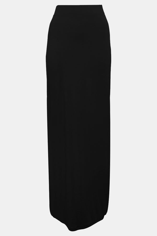 BNAH003-Womens Pencil Skirt-Black (2934811033664)