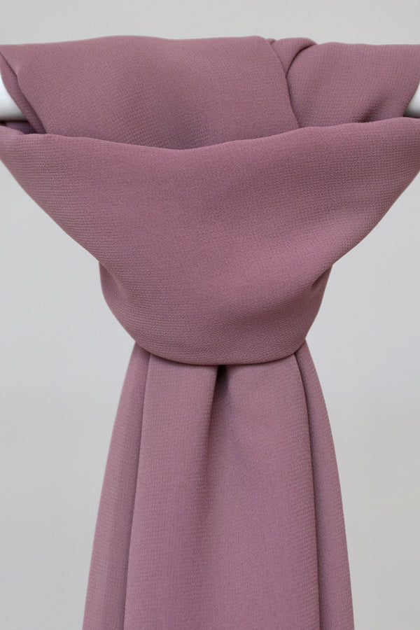BNAH005 - Chiffon Rectangle Hijab - 134.Mauve
