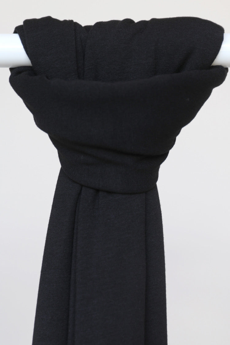 Jersey Shawl - 3 Black