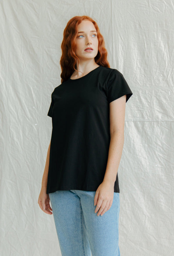 Bamboo Sleeveless Top - Black