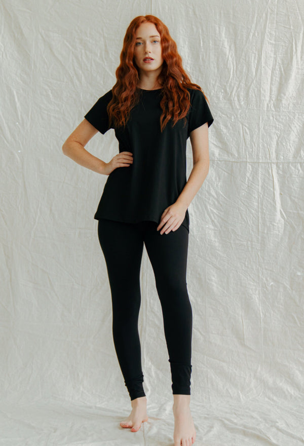 Bamboo Leggings - Black