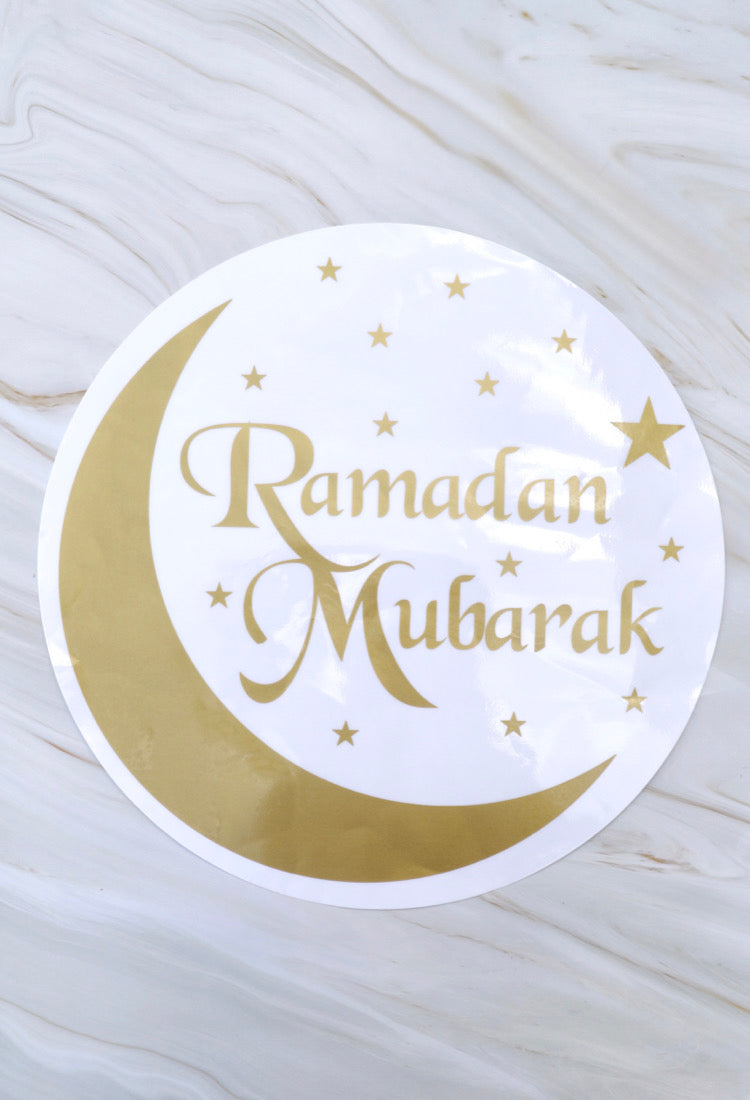 Ramadan Mubarak Window Stickers