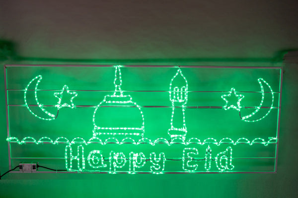 Happy Eid LED Frame