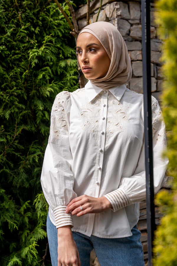 Latizia Blouse - White