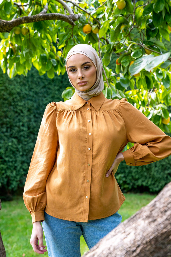 Stella Blouse - Rust