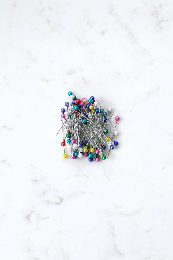 A15-4 - Round Headed Pins Coloured