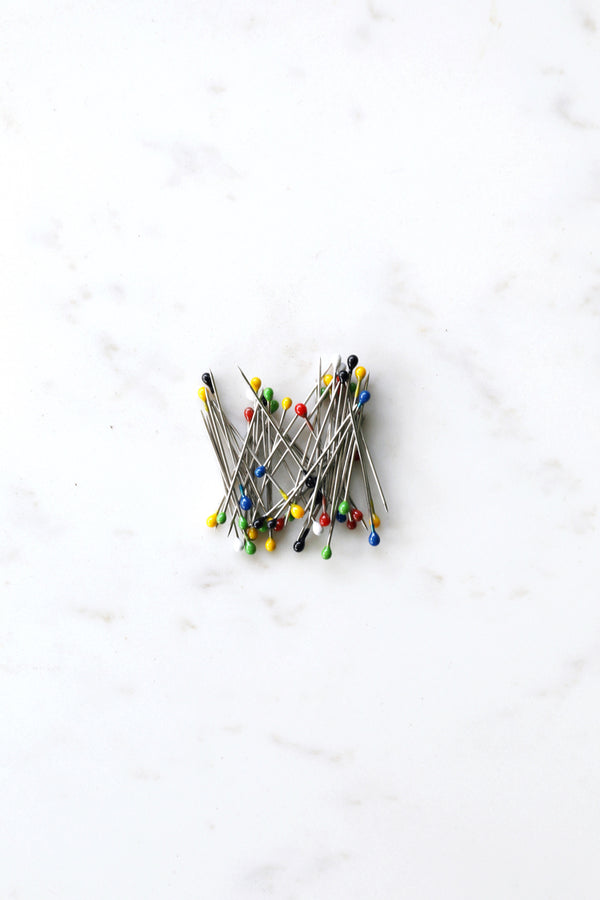 Small Headed Pins - Coloured