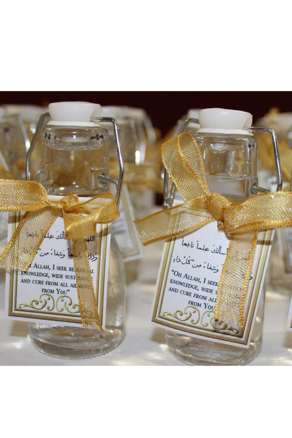 50ml ZamZam Glass Swing Top Bottle