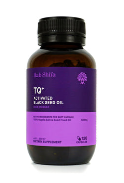 Hab Shifa TQ+ Activated Black Seed Oil 120 Capsules