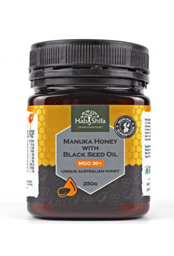 Manuka Honey With Black Seed Oil