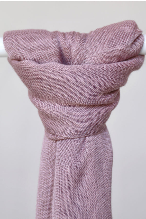 WOPCS - Womens Plain Cotton Shawls 5C_Dusty Pink