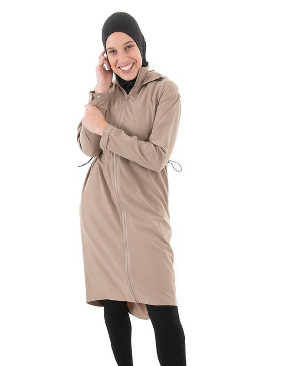 MED-101 - Medina Long Trench - Beige