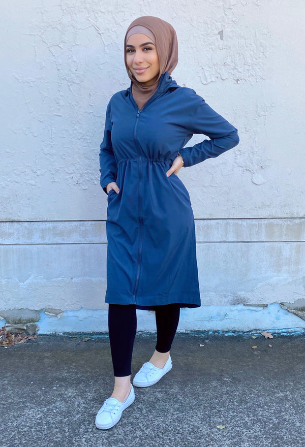 MED-101 - Medina Long Trench - Navy