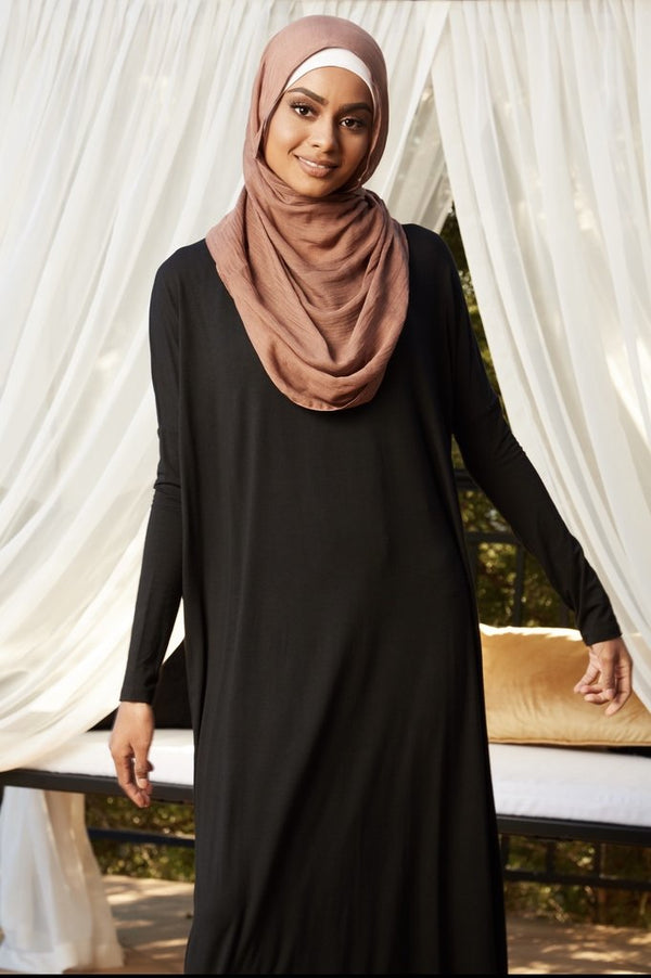 Jersey Staple Dress - Black
