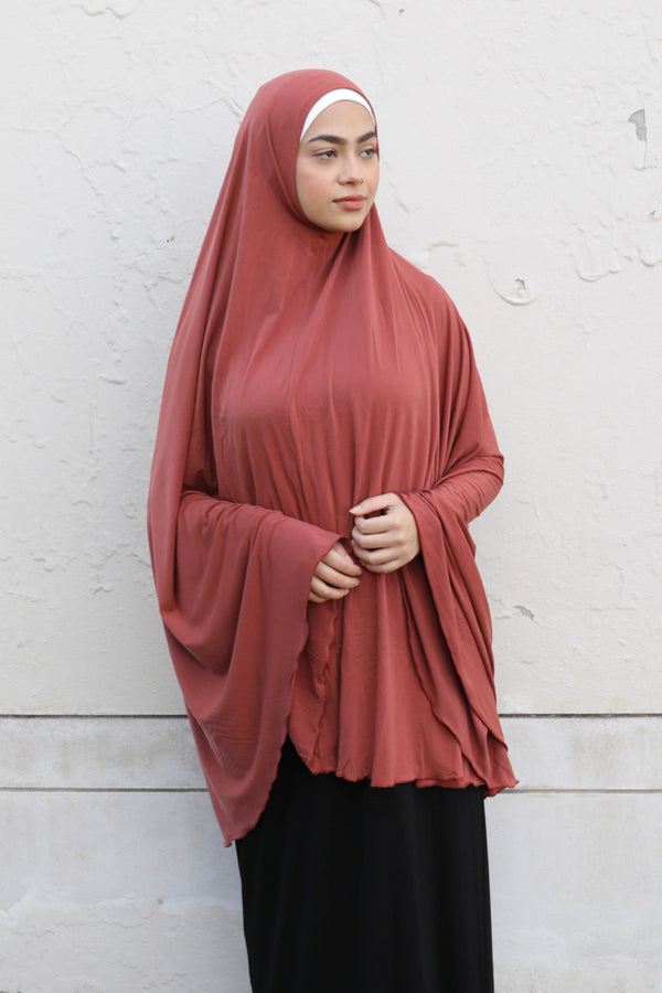 Womens Jilbabs - 20 Burnt Orange