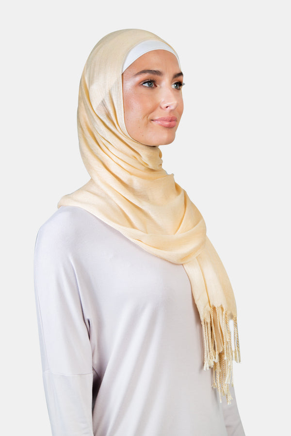 WOPCS-Womens Plain Cotton Shawls -276_Beige (2934801432640)