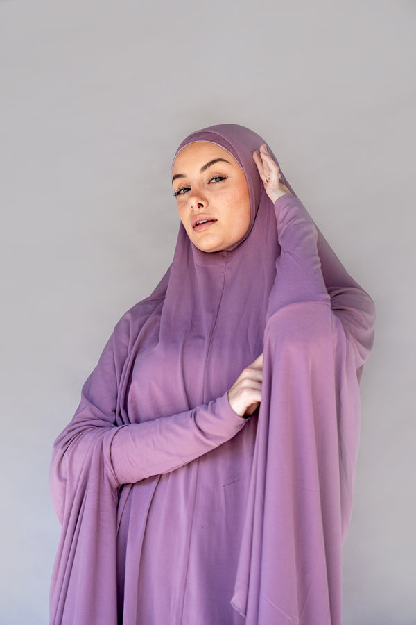 Women's Jilbab - Dark Old Pink