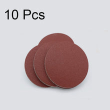 Load image into Gallery viewer, 10PCS Sanding Disc 60-1200 Grit 2 / 3 inch | 50 / 75mm Sandpaper For Dremel Sander Machine Self Stick Abrasive Tools Accessories