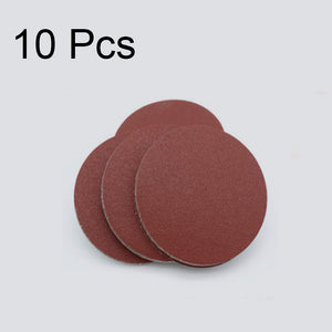 10PCS Sanding Disc 60-1200 Grit 2 / 3 inch | 50 / 75mm Sandpaper For Dremel Sander Machine Self Stick Abrasive Tools Accessories