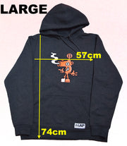 BLOW YOUR NOSE HOODIE ON DARK GREY MARL