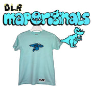 DINO TERRA MINI TEE CARIBBEAN SEA BLUE