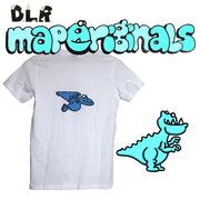 DINO T-REX MINI TEE WHITE