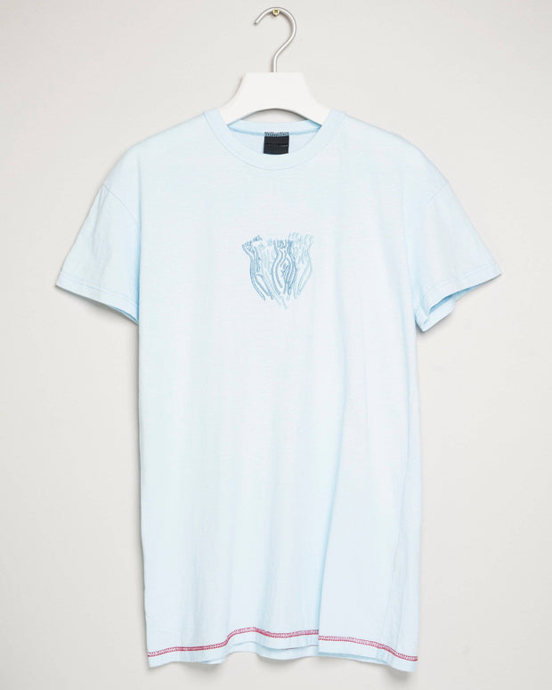 """BLUE BLUE SKY"" t-shirt by MAP London"