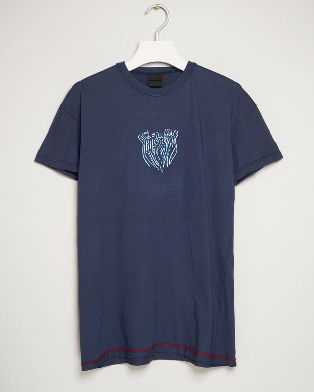 """BLUE BLUE NAVY"" t-shirt by MAP London"
