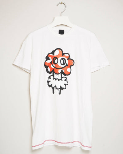 """MUSHBOOM WHITE"" t-shirt by MAP London"
