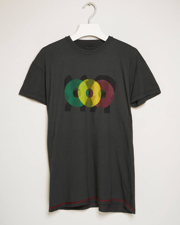 """PLATE 2 CHARCOAL"" t-shirt by MAP London"