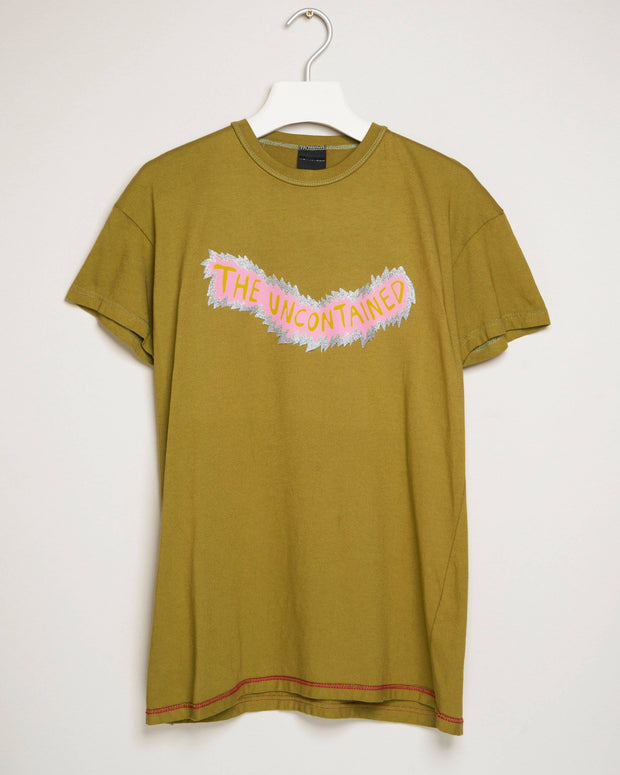"""THE UNCONTAINED GREEN"" t-shirt by MAP London"