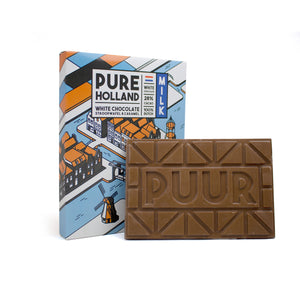 PURE Holland melk chocolade (150 gram)