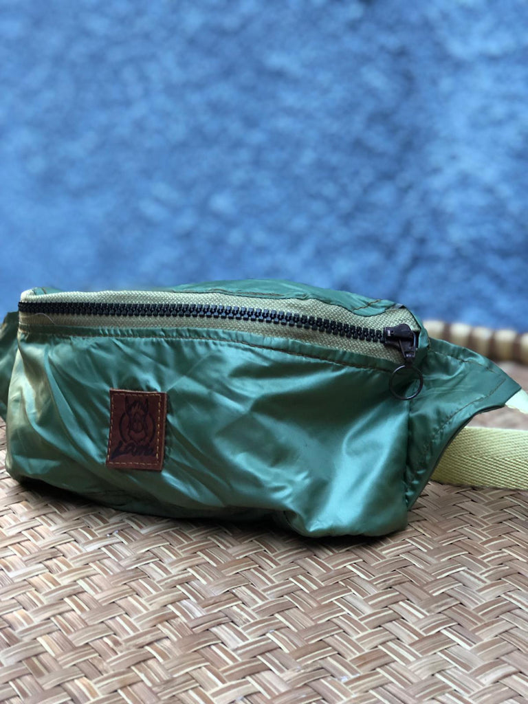 Turquoise  waterproof waistbag