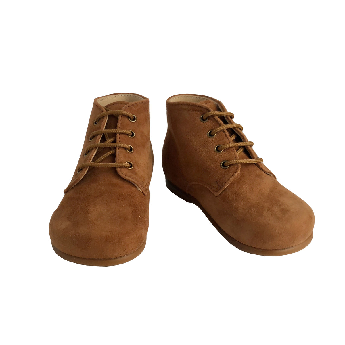 d9a09f437f5b3 Baby Ankle Boots by Beberlis - Caramel