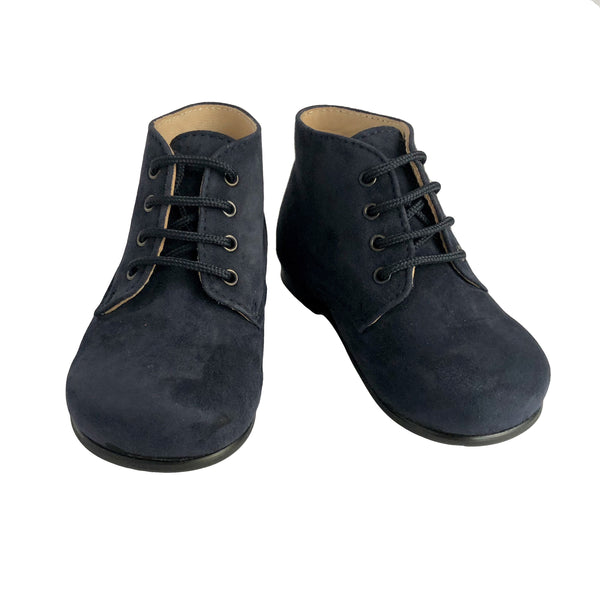Baby Ankle Boots by Beberlis - Navy Blue