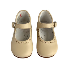 Baby Girl Shoes by Beberlis - Beige