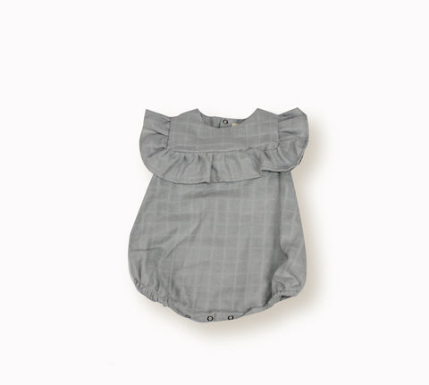 Romper Nina by Lebome - Light grey