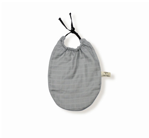 Bib James by Lebome - Light Grey